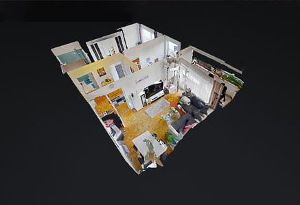 Pixty Menu 3D Fotografie-360 Grad Virtuelle Rundgang Köln